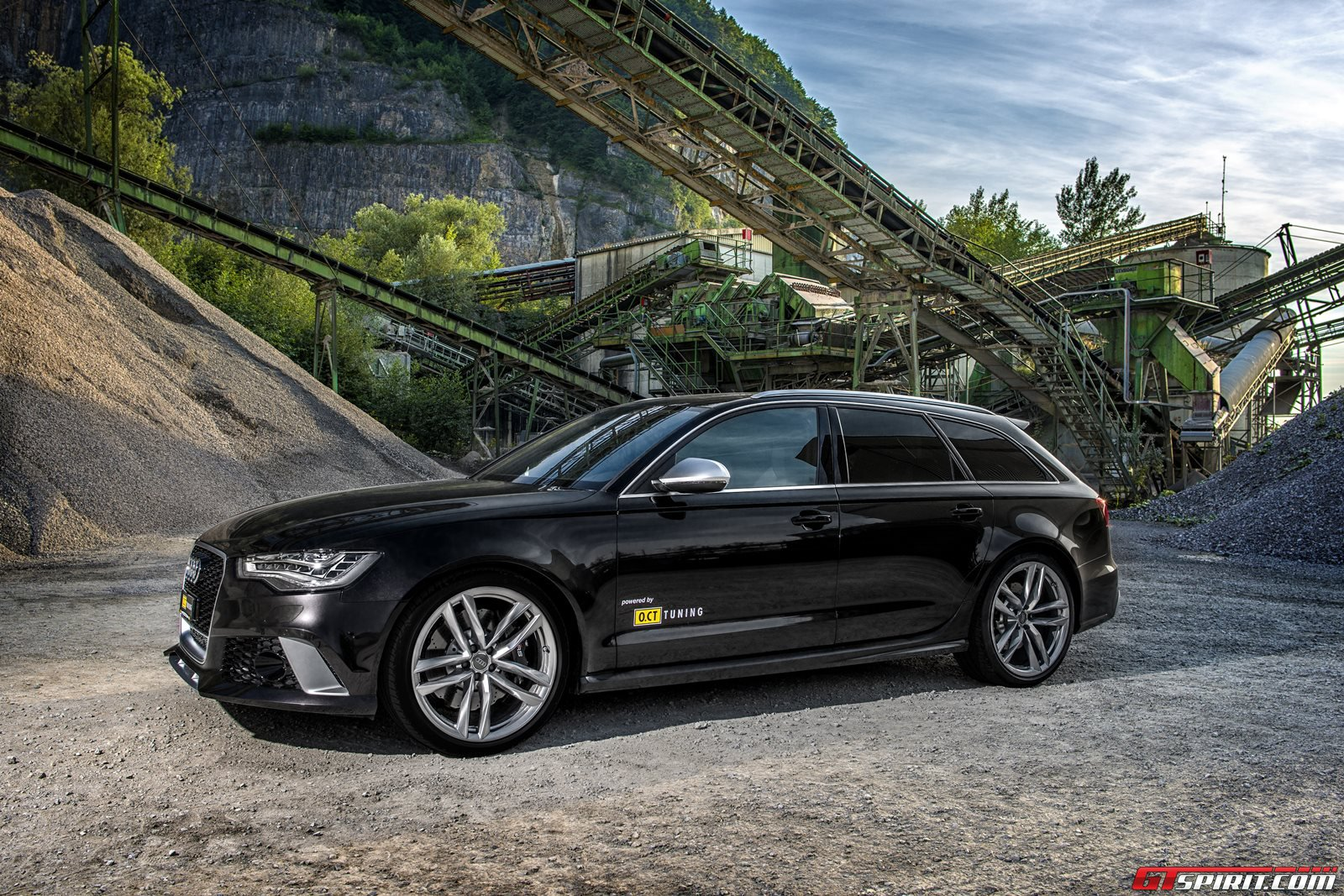 official audi rs6 avant by o ct tuning gtspirit. Black Bedroom Furniture Sets. Home Design Ideas