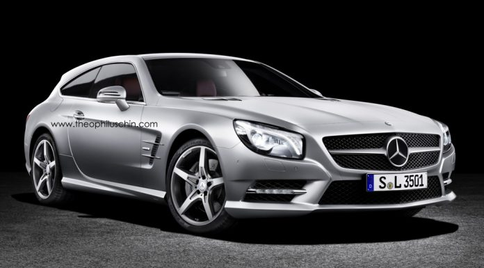 Mercedes-Benz SL Shooting Brake Imagined