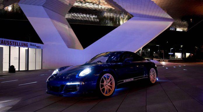 2014 Porsche 911 5 Million Facebook Fans Edition Hits the Track