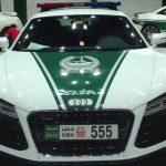 Dubai Police Add Audi R8, Nissan GT-R and Mercedes SL 63 AMG to Police Fleet