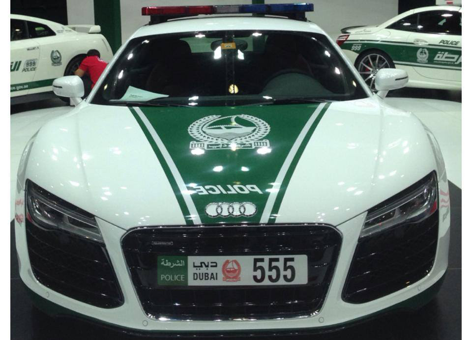 Dubai Police Add Audi R8 Nissan Gt R And Mercedes Sl 63 Amg To