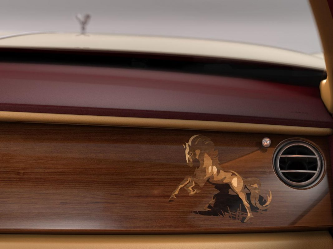 Official: 2014 Rolls-Royce Ghost Majestic Horse Edition