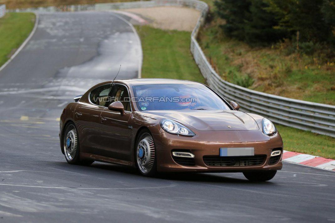 Next-Generation Porsche Panamera Snapped at the Nurburgring