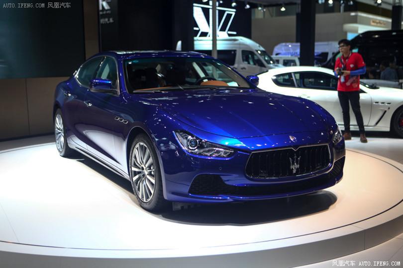 Guangzhou 2013: Maserati Ghibli