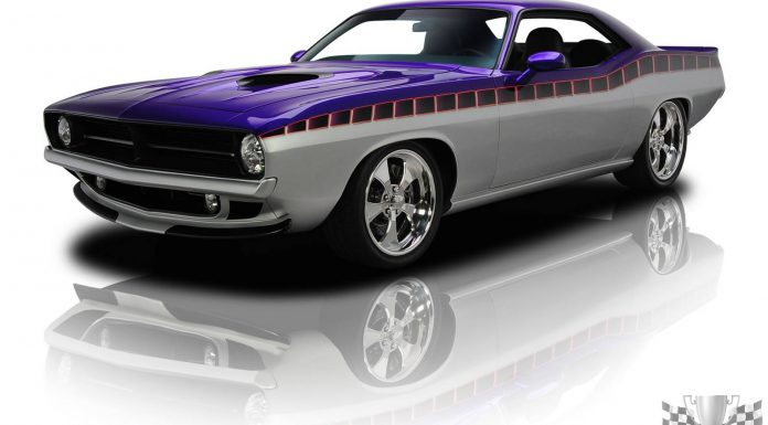 For Sale: Purple & Silver 1970 Plymouth Cuda at $169,900