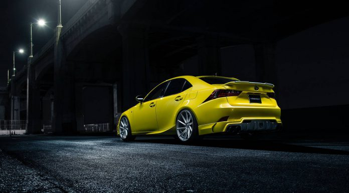 Official: 2014 Lexus IS350 F Sport by Vossen Wheels