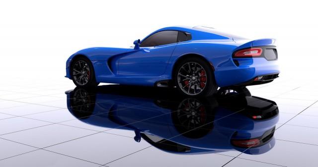 SRT Announces New 2014 Viper Color is 'Competition Blue'