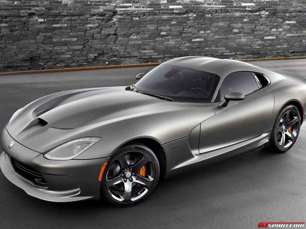 2014 SRT Viper Anodized Carbon Special Edition