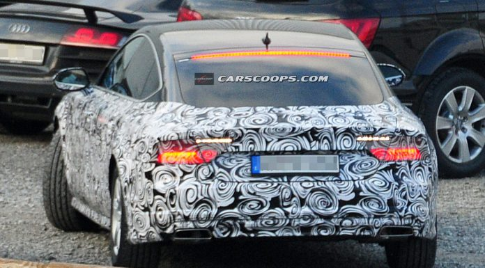 Updated Audi A7 Spotted Under Light Camouflage