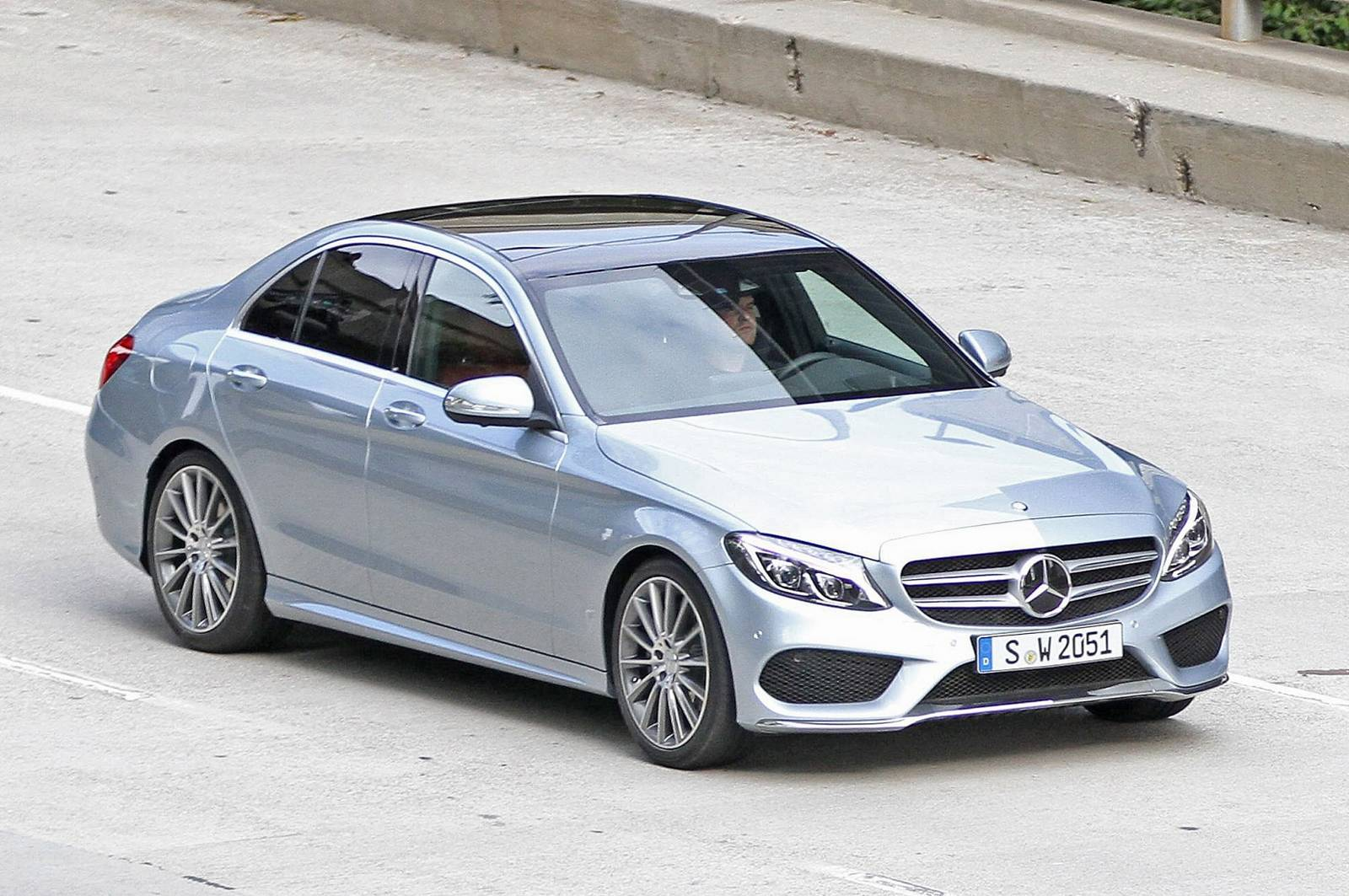 2015 mercedes benz c class spied uncovered gtspirit. Cars Review. Best American Auto & Cars Review