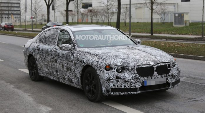 2016 BMW 7-Series Snapped for the First Time