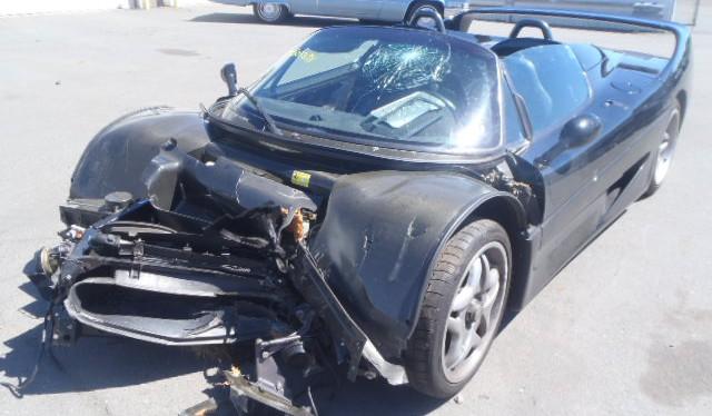 German Pays $446,000 for Wrecked U.S. Ferrari F50