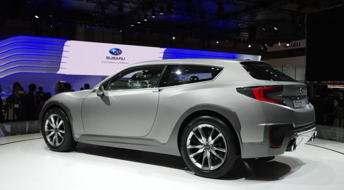 Tokyo 2013: Subaru Cross Sport Design Concept