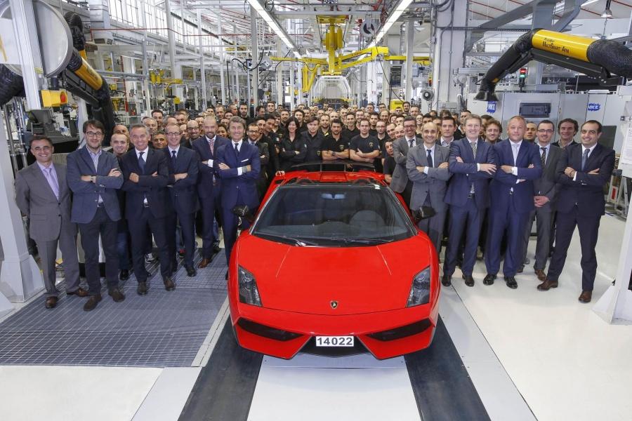 Lamborghini Gallardo Production Ends After 10 Years