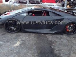Destroyed Lamborghini Sesto Elemento From Need for Speed For Sale
