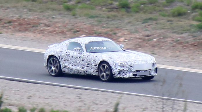 2016 Mercedes-Benz GT Spotted Testing Again