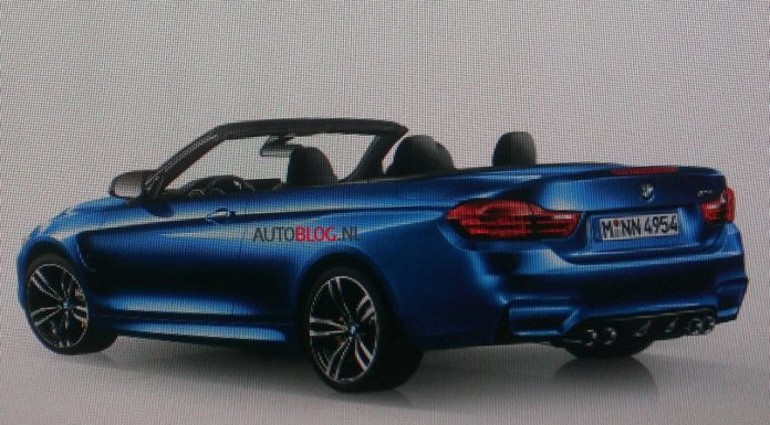 Has The 2014 BMW M4 Convertible Leaked?