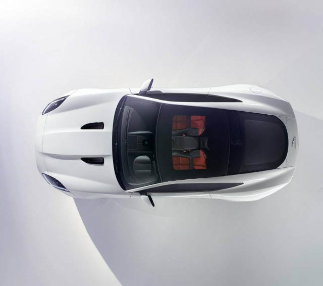 Jaguar F-Type Coupe Confirmed for Los Angeles Auto Show 2013