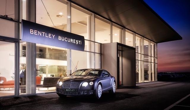 Bentley opens new Showroom in Bucharest