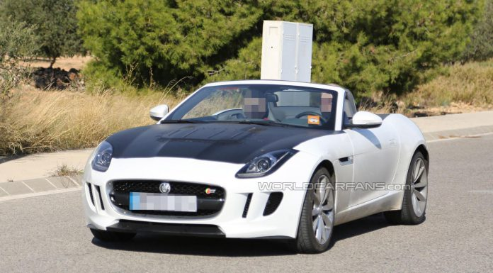 Mysterious Jaguar F-Type Prototype Spotted; Possibly a Four Cylinder