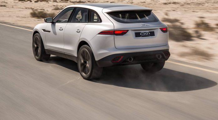 Silver Jaguar C-X17 Concept Debuts in Dubai