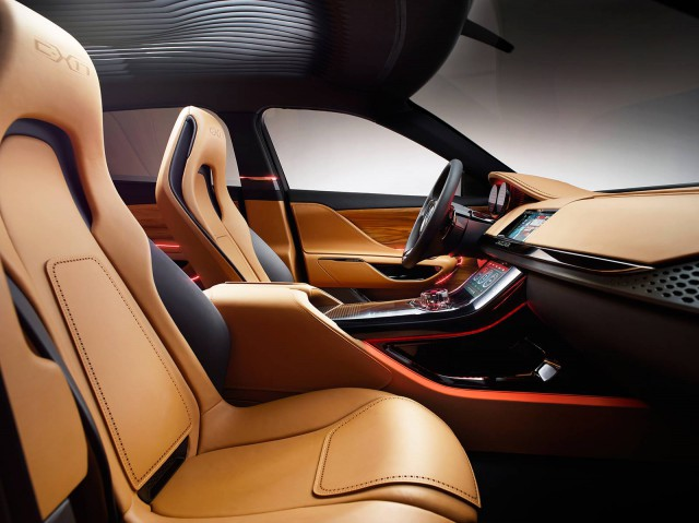 Gold, Five-Seat Jaguar C-X17 Unveiled for China