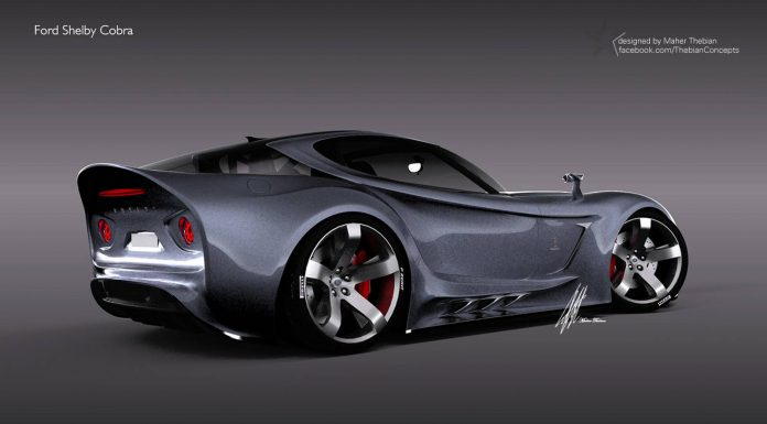 More of Maher Thebian's Futuristic Ford Shelby Cobra