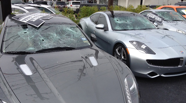 Naked Man Wreaks Havoc on Luxury Car Rentals
