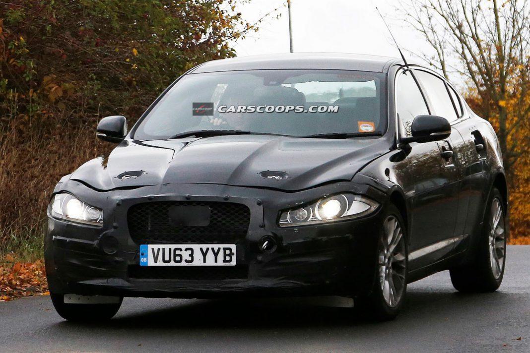 Next-Generation Jaguar XF Begins Testing
