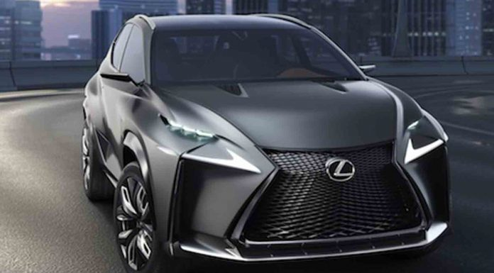 Turbocharged Lexus LF-NX Concept Heading to Tokyo