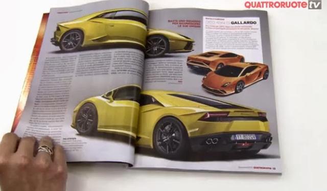 Has the Lamborghini Gallardo's Successor Leaked?