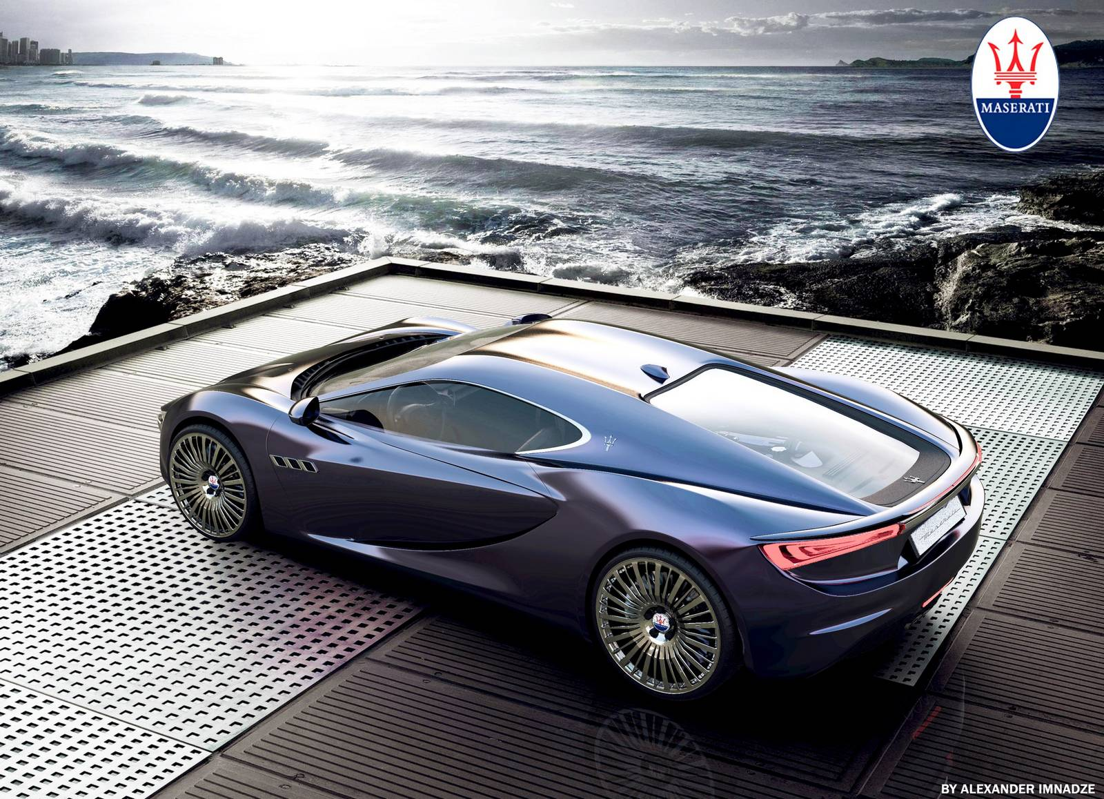 Render: 2013 Maserati Bora Concept - GTspirit