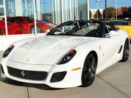 White 2011 Ferrari SA Aperta For Sale