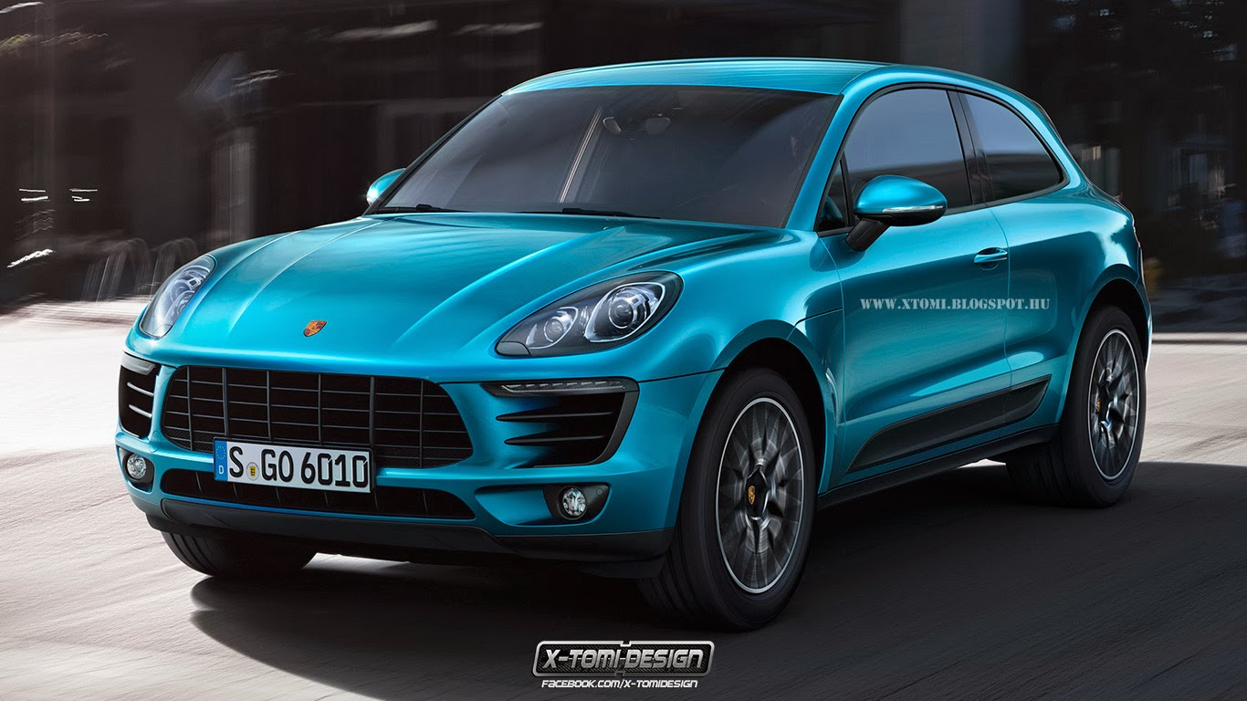 2014 Porsche Macan Imagined With Two Doors Gtspirit