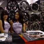 SEMA car girls