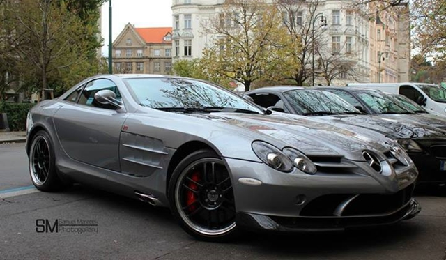 Spotted: Only Mercedes-Benz McLaren SLR 722 Edition in Czech Republic