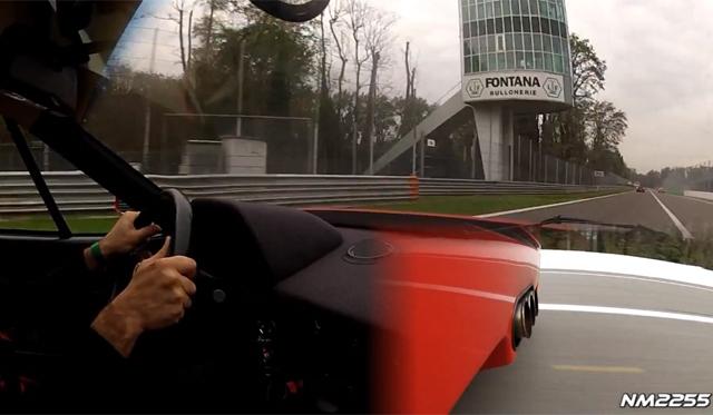 The Sounds of a Tubi Equipped Ferrari F40!