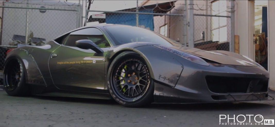 Liberty Walk Ferrari 458 Italia and Nissan GT-R In-Depth