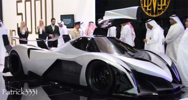 5000hp, 560km/h, V16 Devel Sixteen Revealed at Dubai