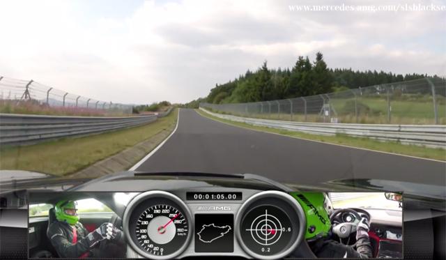 Mercedes-Benz SLS AMG Black Series Laps the Nurburgring in 7:25.6