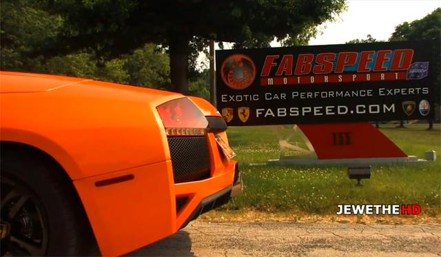 Lamborghini Murcielago LP640 Roadster Screams With Fabspeed Exhaust!