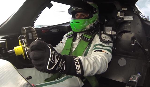 Chris Harris Drives the Insane World-Record Holding Drayson B12 69/EV