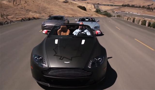 Matt Farah Tracks the Aston Martin Vantage GT4