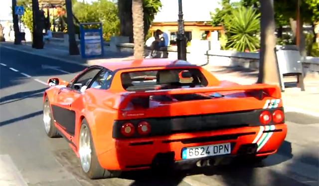 1000hp Hamann Ferrari 512 TR Filmed on the Road