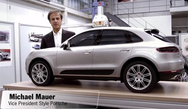 Behind the Design of the 2014 Porsche Macan