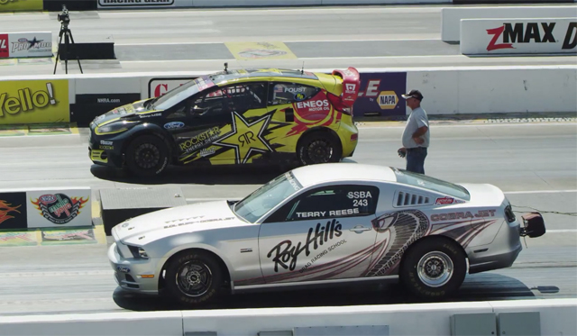 What's Faster? 2013 Mustang Cobra Jet or Rallycross Ford Fiesta ST