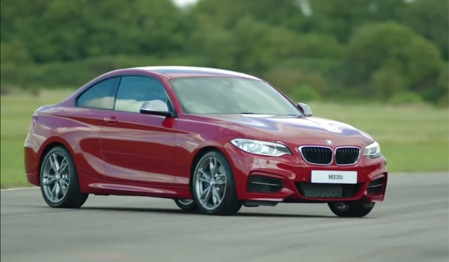 Andy Priaulx Laps the BMW M235i in the UK