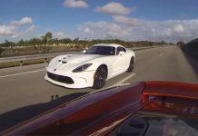 2013 SRT Viper Drag Races Mighty McLaren 12C