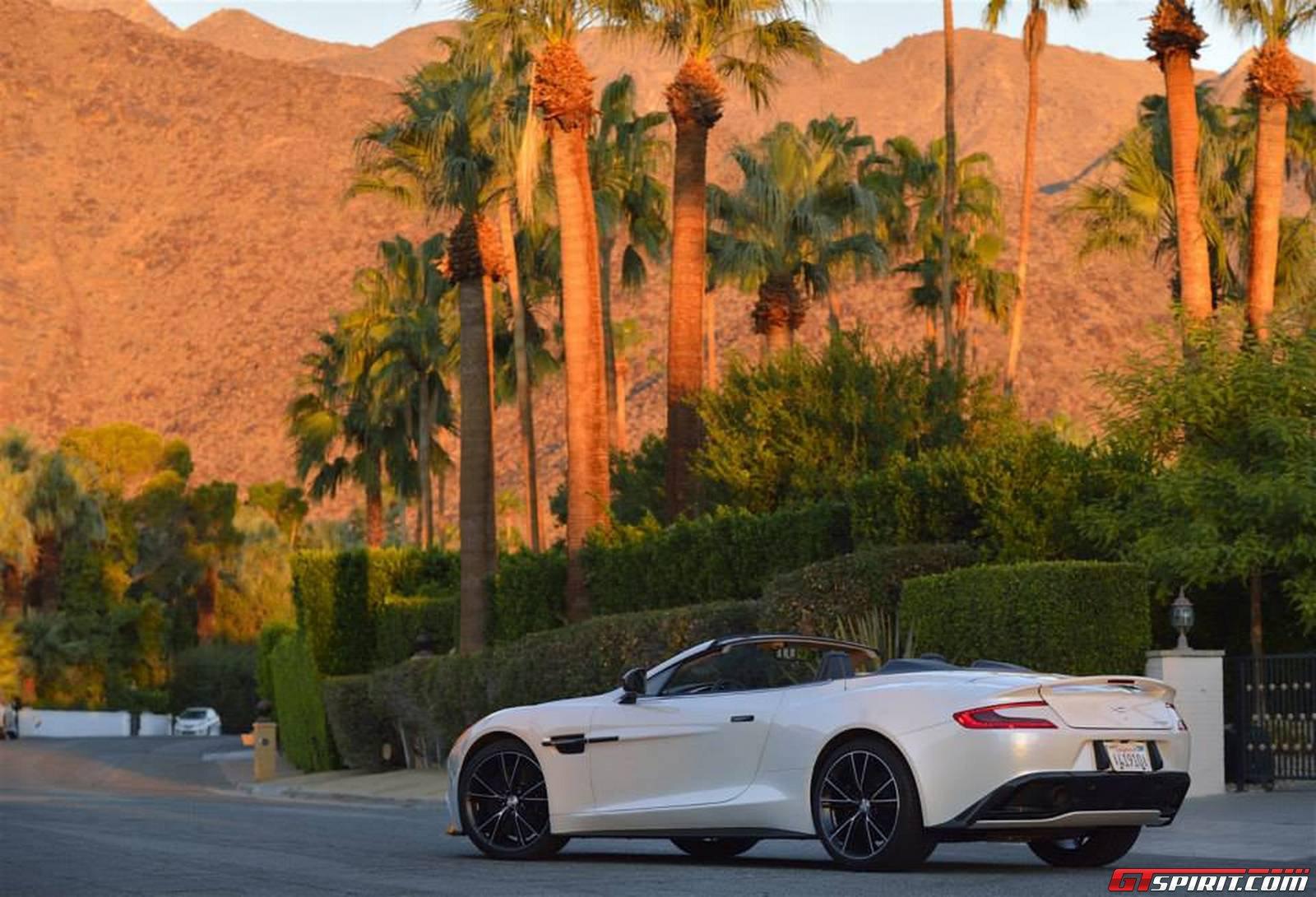 Aston Martin Vanquish Volante In Palm Springs California Gtspirit