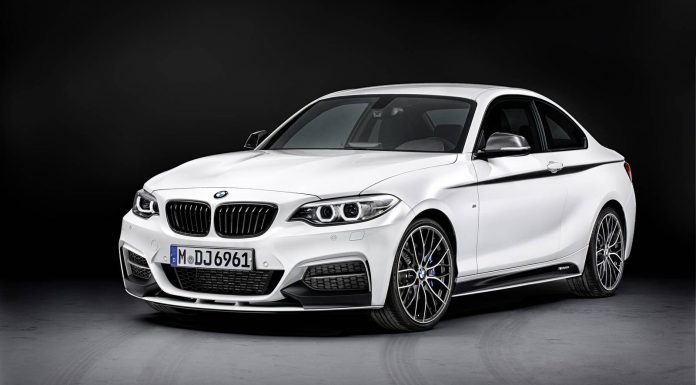 Official: BMW 2 Series Coupe M Performance Parts